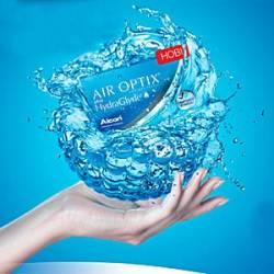 Новинка от Alcon - Air Optix plus HydraGlyde