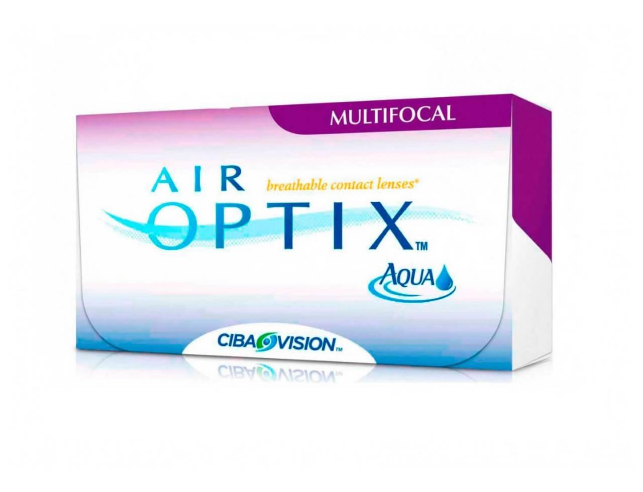 Мультифокальные контактные линзы Alcon Air Optix Aqua Multifocal - Фото №7