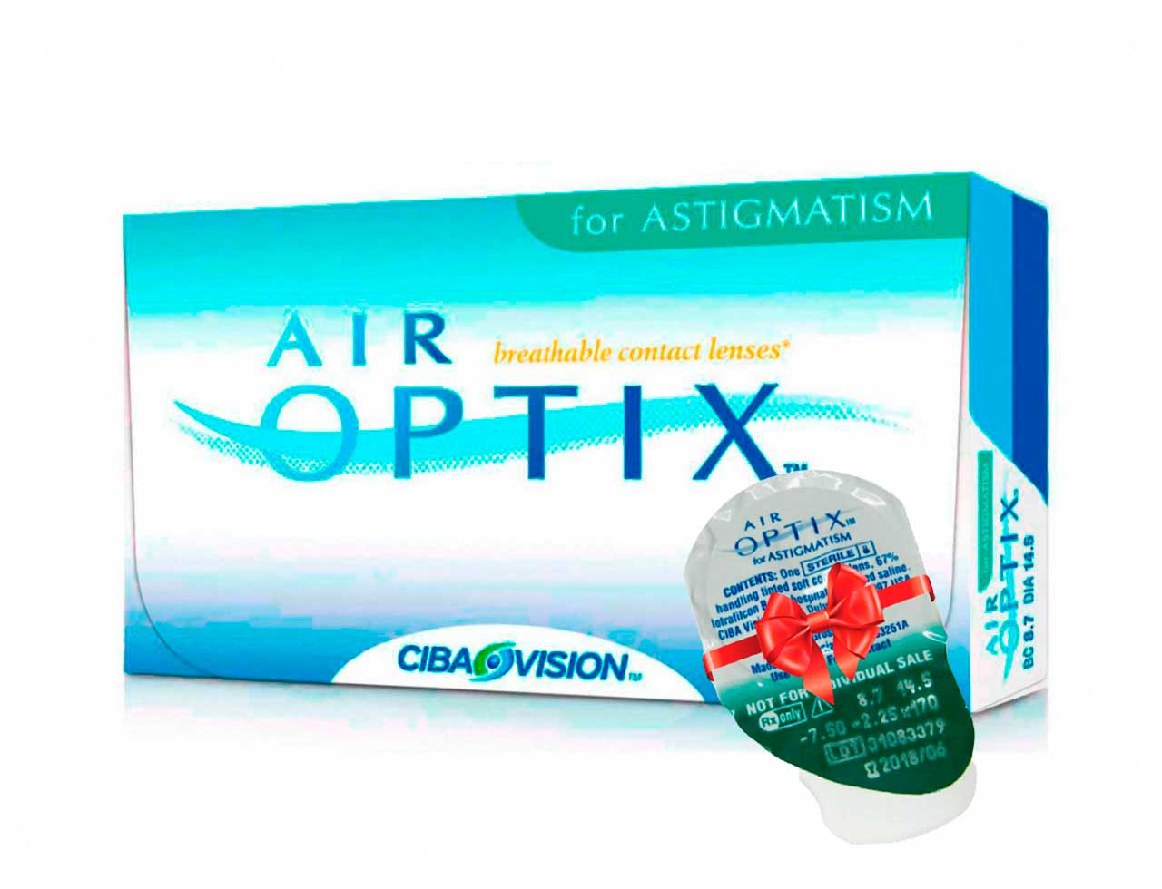 Торические контактные линзы Alcon Air Optix for Astigmatism
