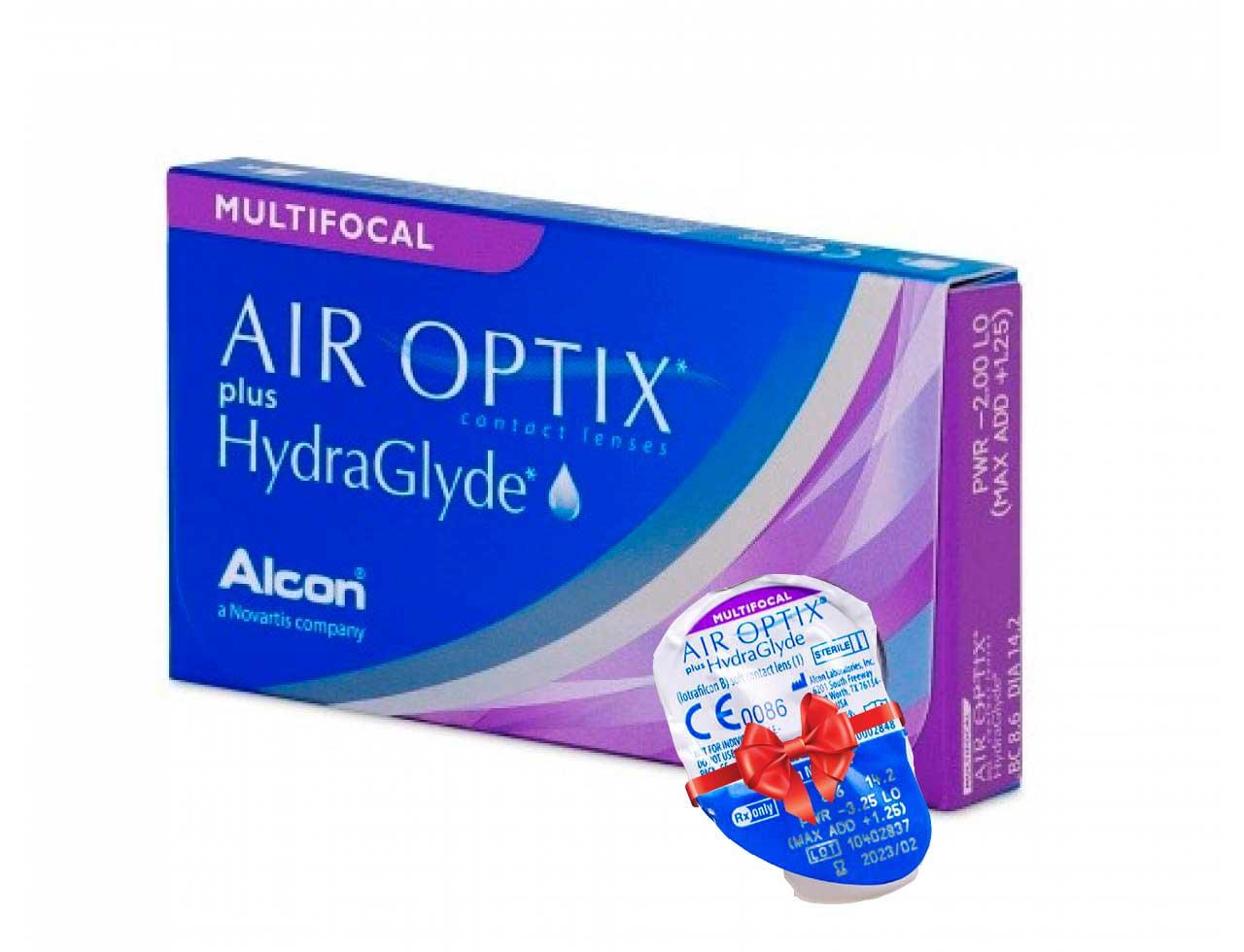 Мультифокальные контактные линзы Alcon Air Optix plus HydraGlyde Multifocal - Фото №7