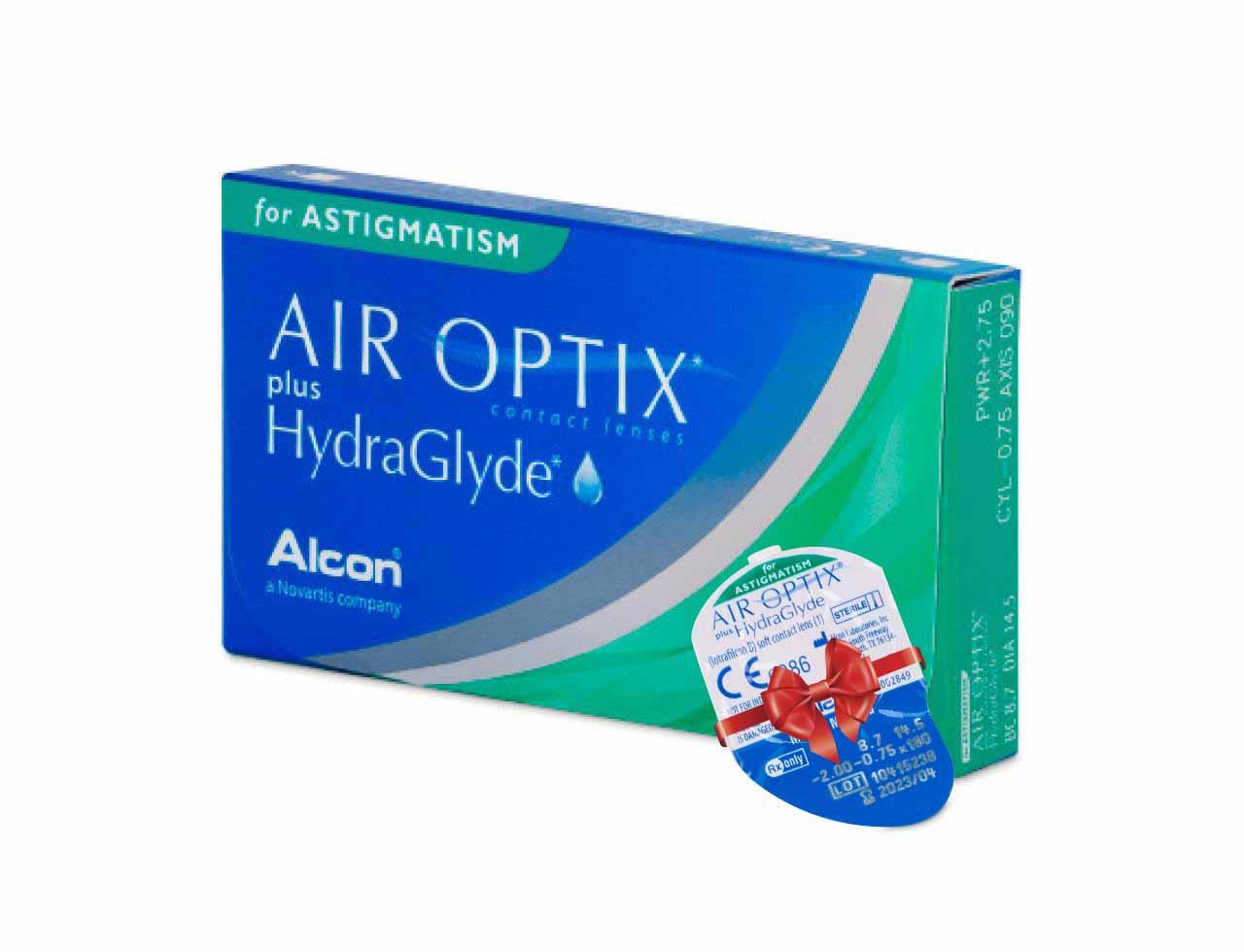 Торические контактные линзы Alcon Air Optix plus HydraGlyde for Astigmatism - Фото №7