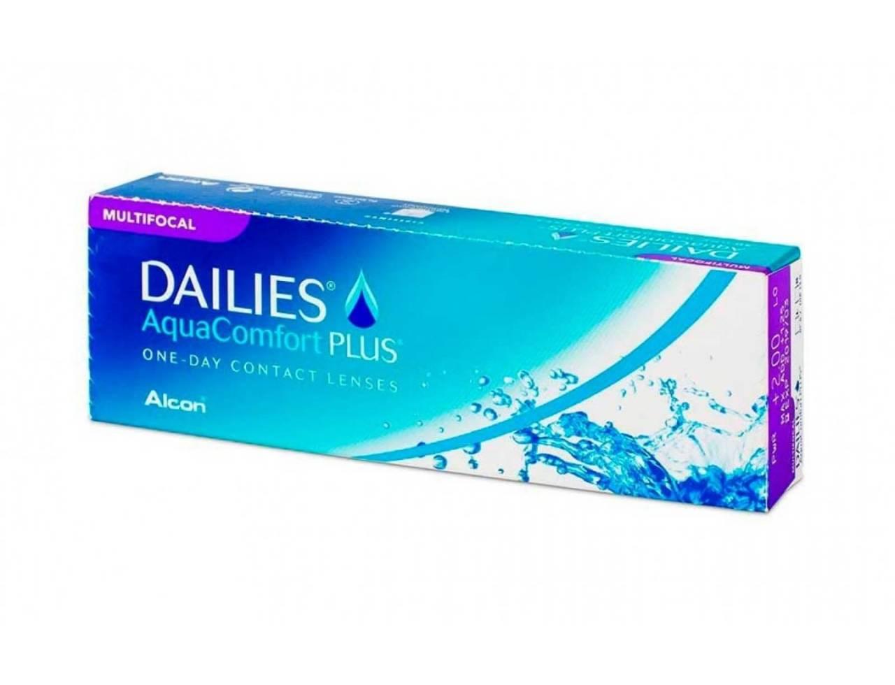 Мультифокальные однодневные линзы Alcon Dailies Aqua Multifocal - Фото №7