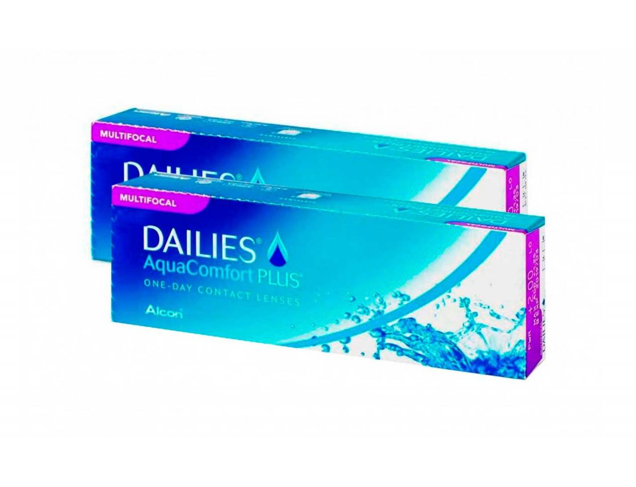 Dailies Aqua Multifocal - 2 упаковки (-3%)