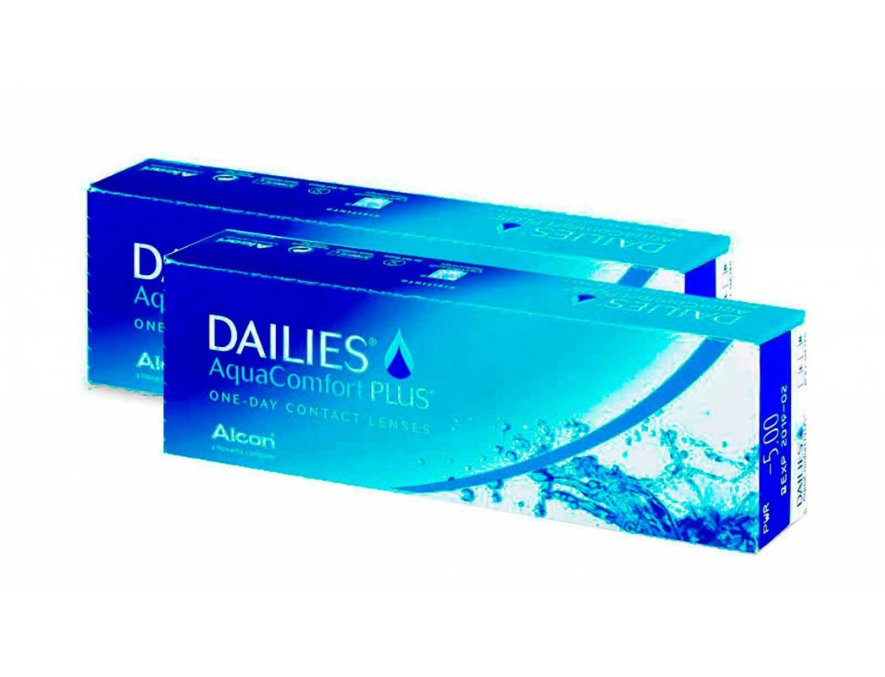 Dailies AquaComfort Plus - 2 уп. по 30 линз (-3%)