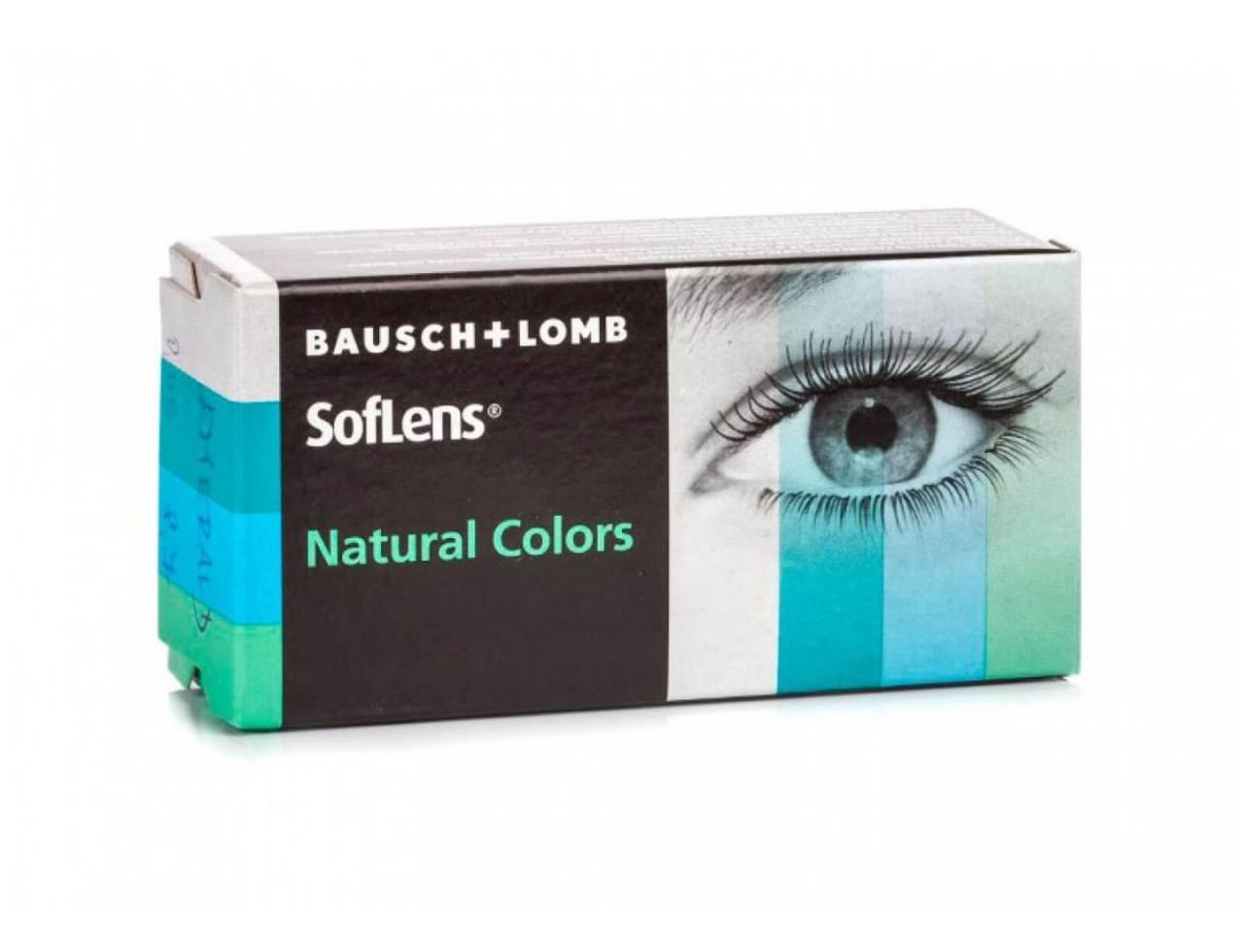 Цветные контактные линзы Bausch+Lomb Soflens Natural Colors - Фото №7