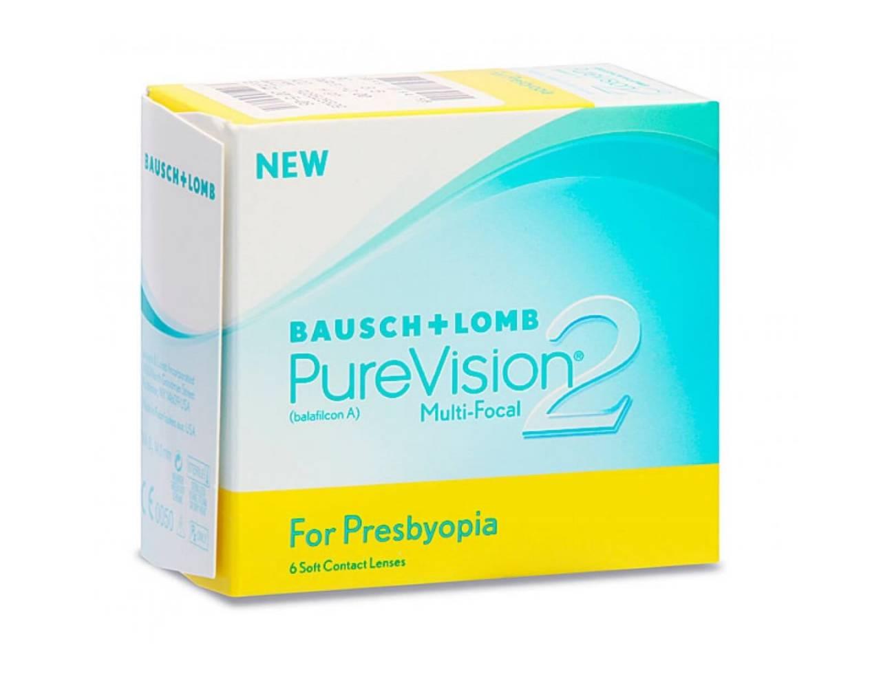 Мультифокальные контактные линзы Bausch+Lomb Pure Vision 2 Multi-Focal - Фото №7