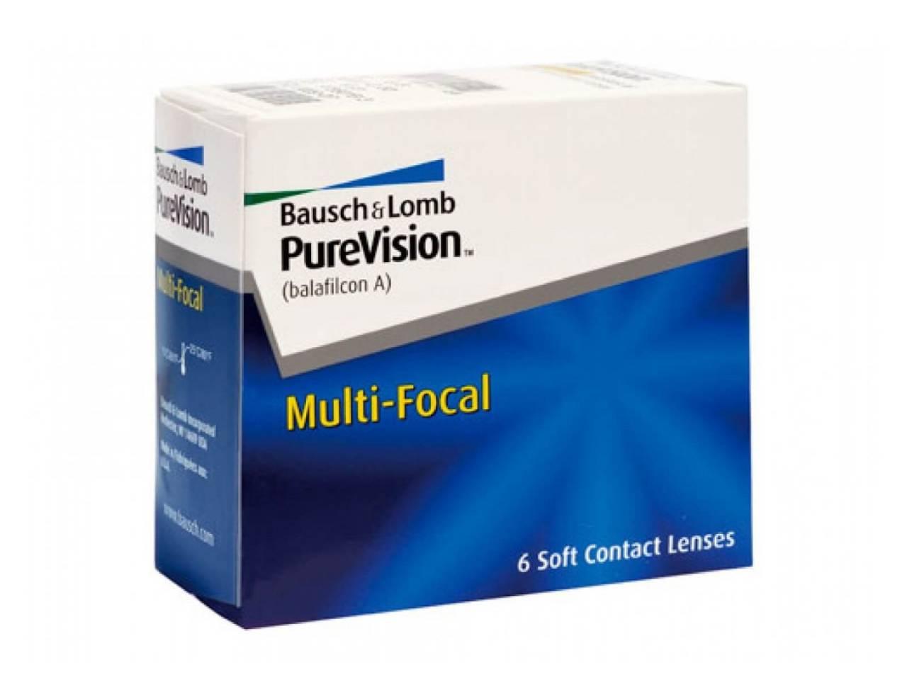 Мультифокальные контактные линзы Bausch+Lomb Pure Vision Multi-Focal