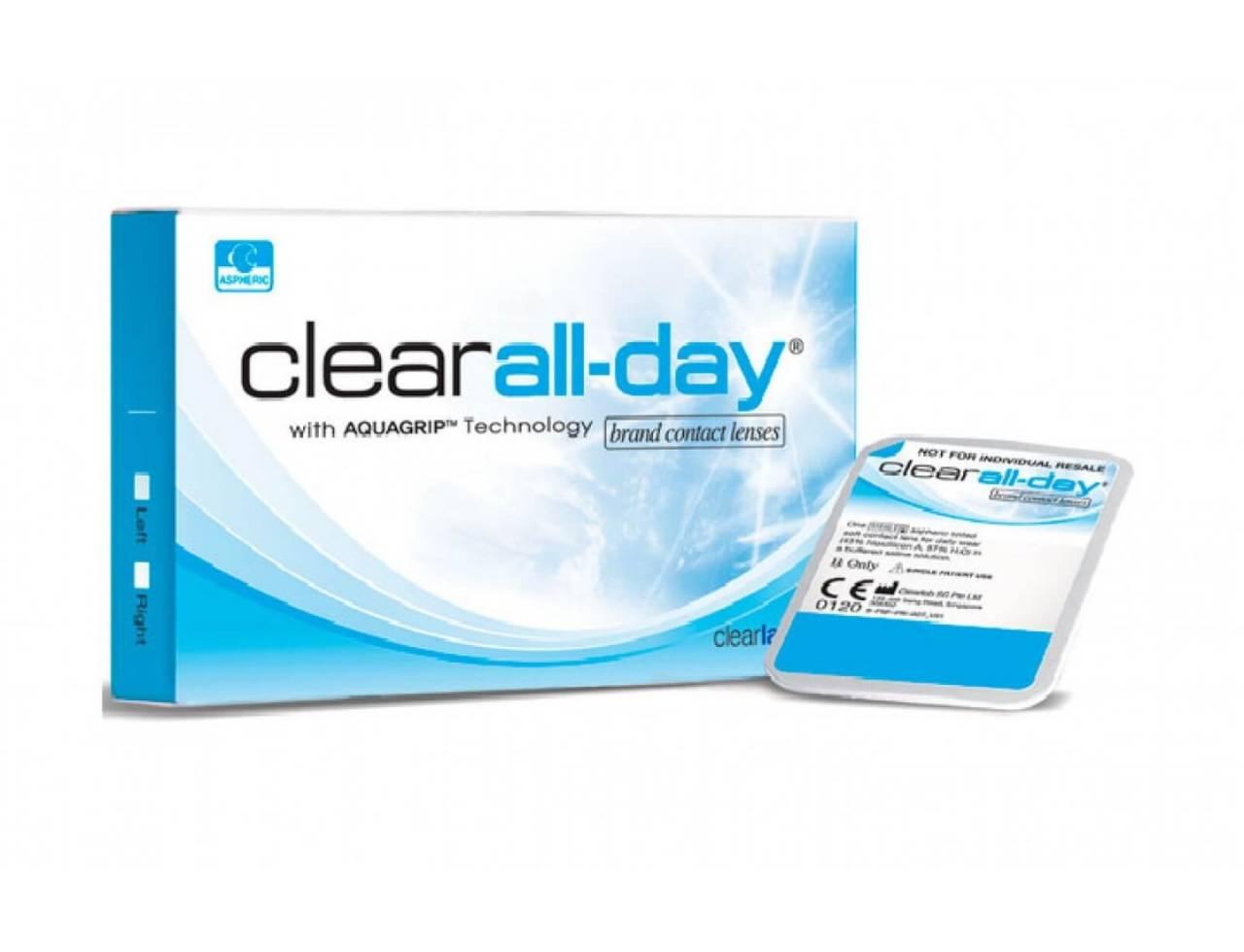 Месячные контактные линзы Clearlab Clear All-Day