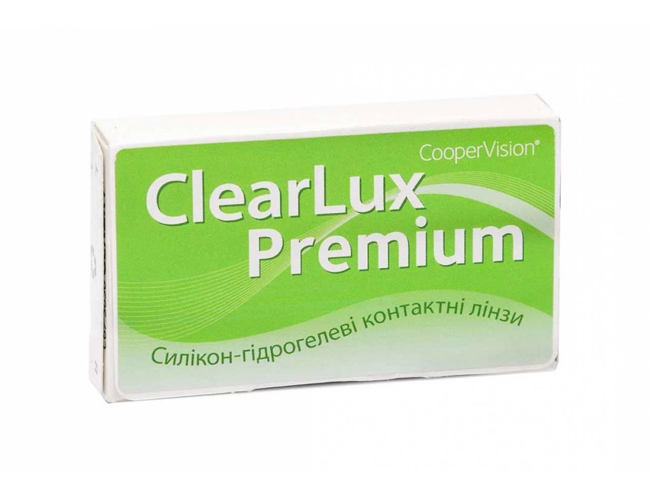 Месячные контактные линзы Cooper Vision ClearLux Premium