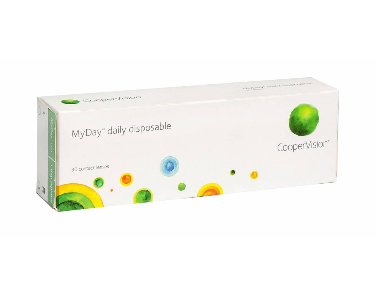 Однодневные контактные линзы Cooper Vision MyDay