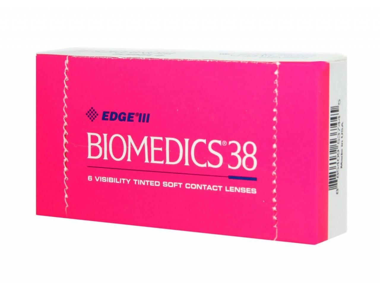 Квартальные контактные линзы Cooper Vision Biomedics 38