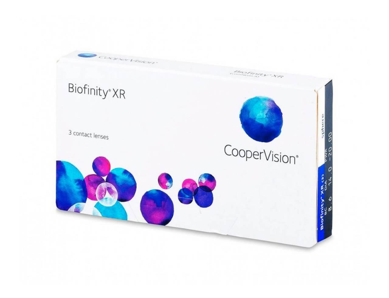 Месячные контактные линзы Cooper Vision Biofinity XR