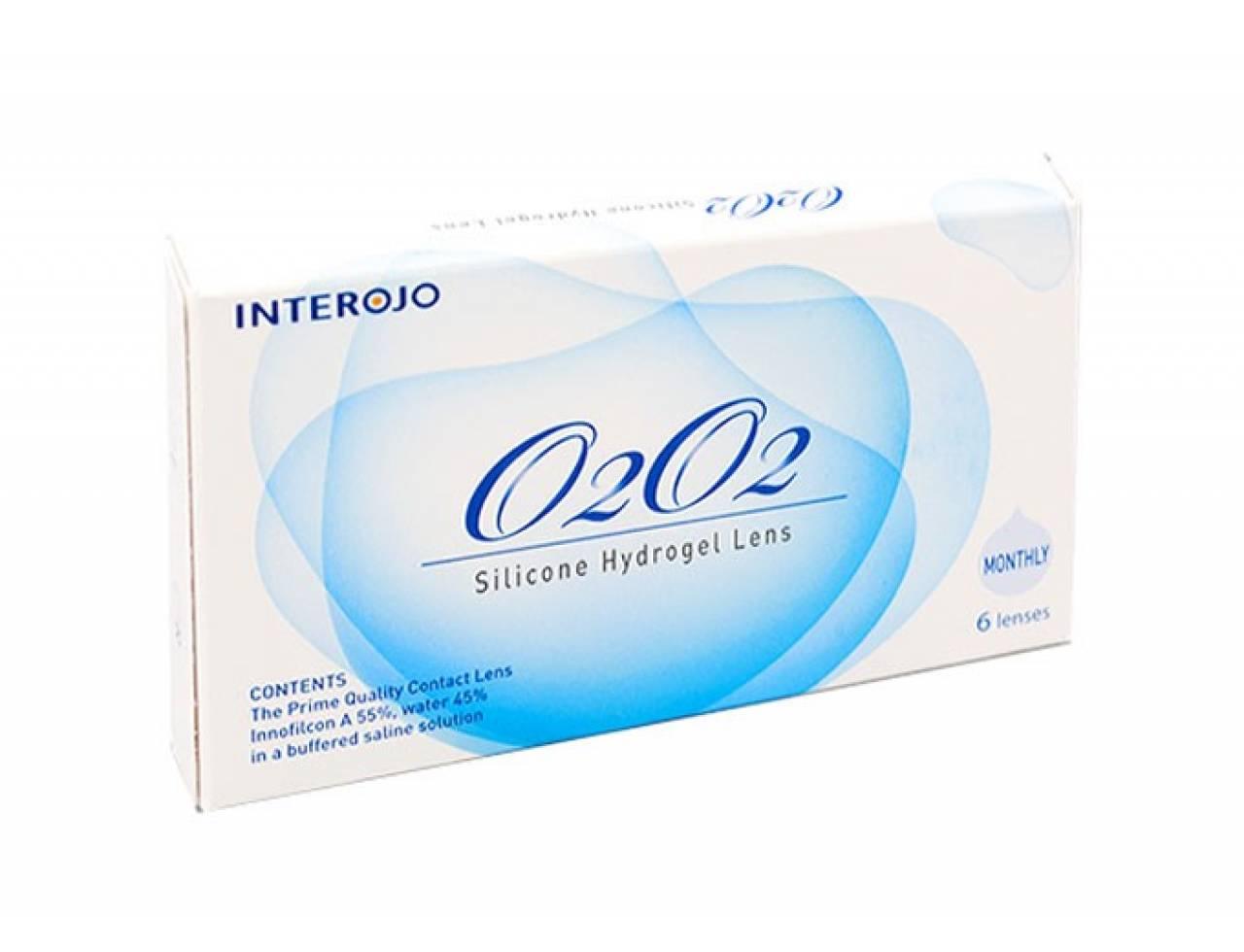 Месячные контактные линзы Interojo O2O2 - Фото №7