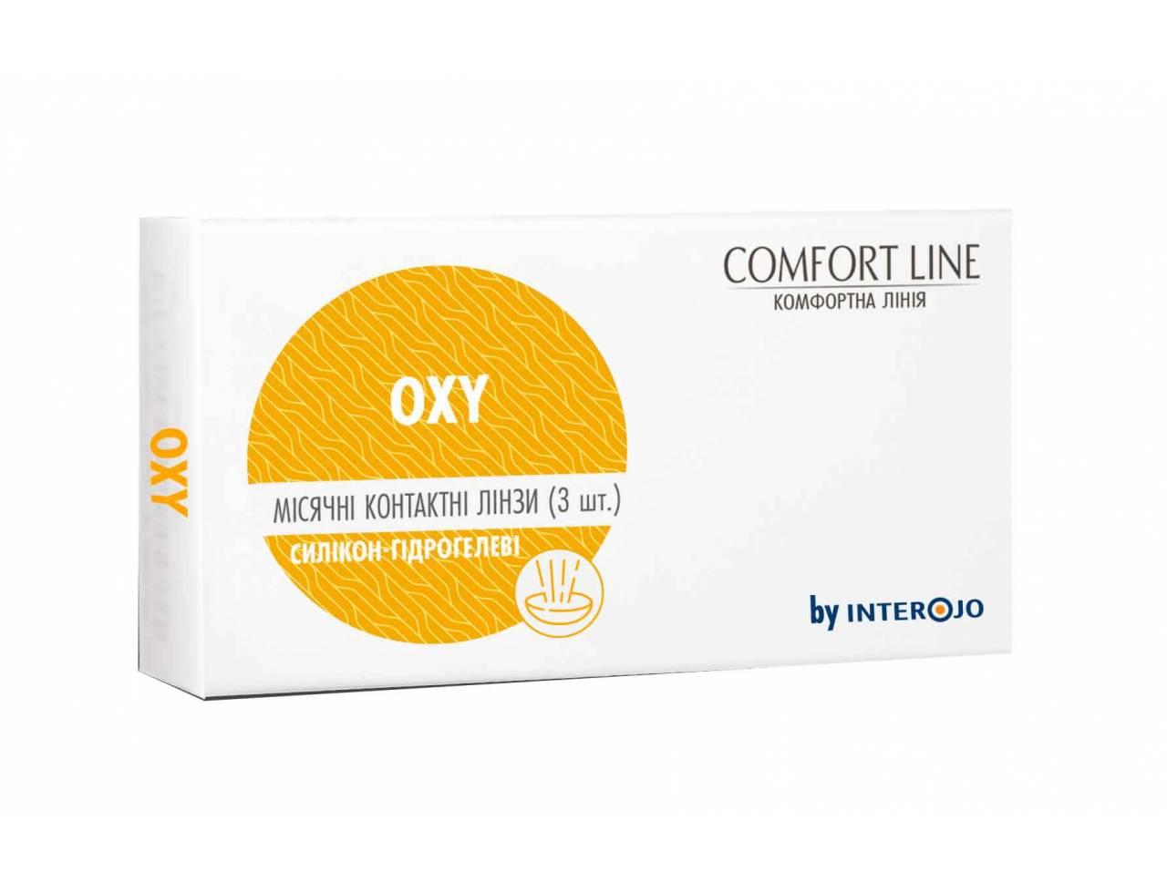 Месячные контактные линзы Interojo Oxy - Фото №7