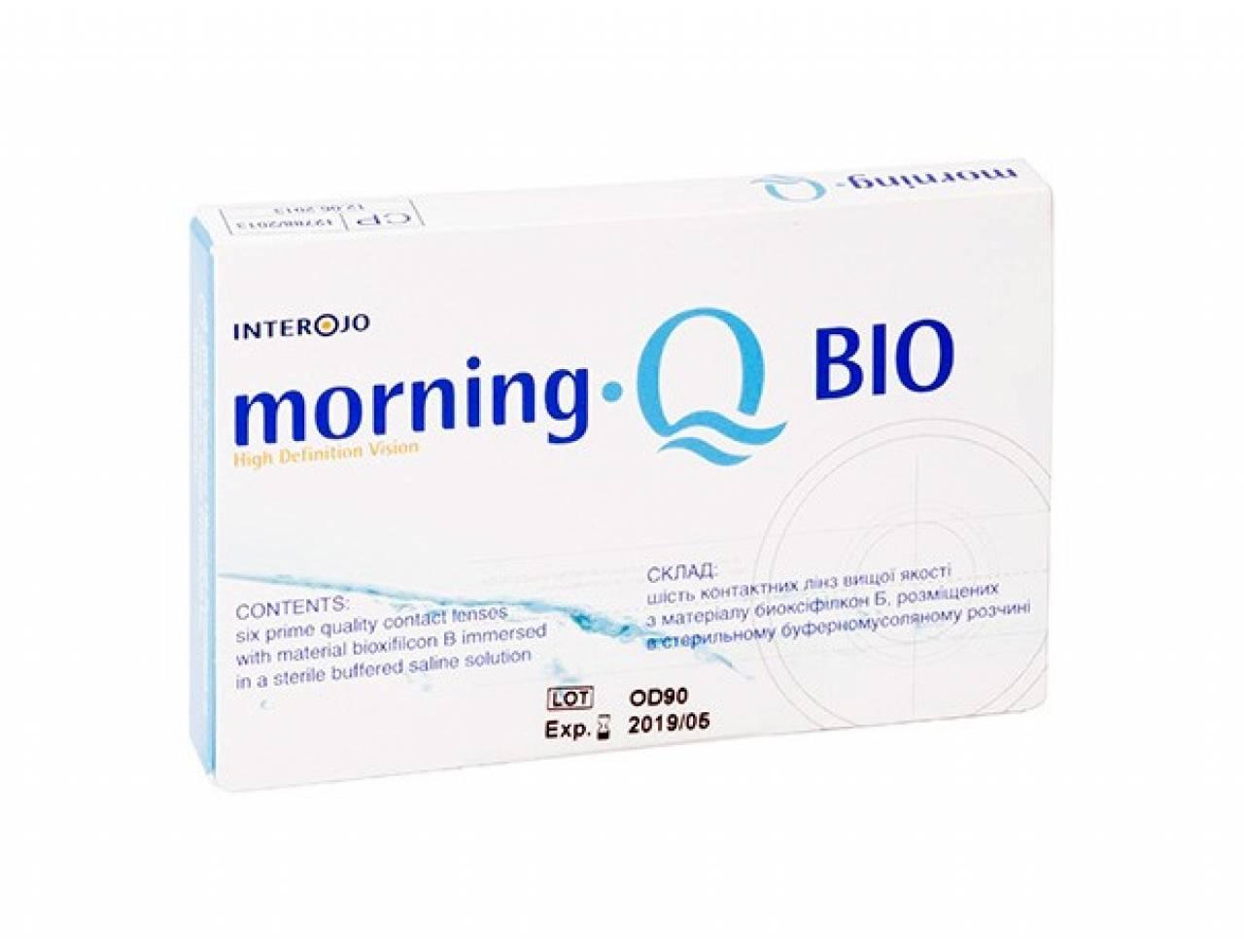 Месячные контактные линзы Interojo Morning Q BIO