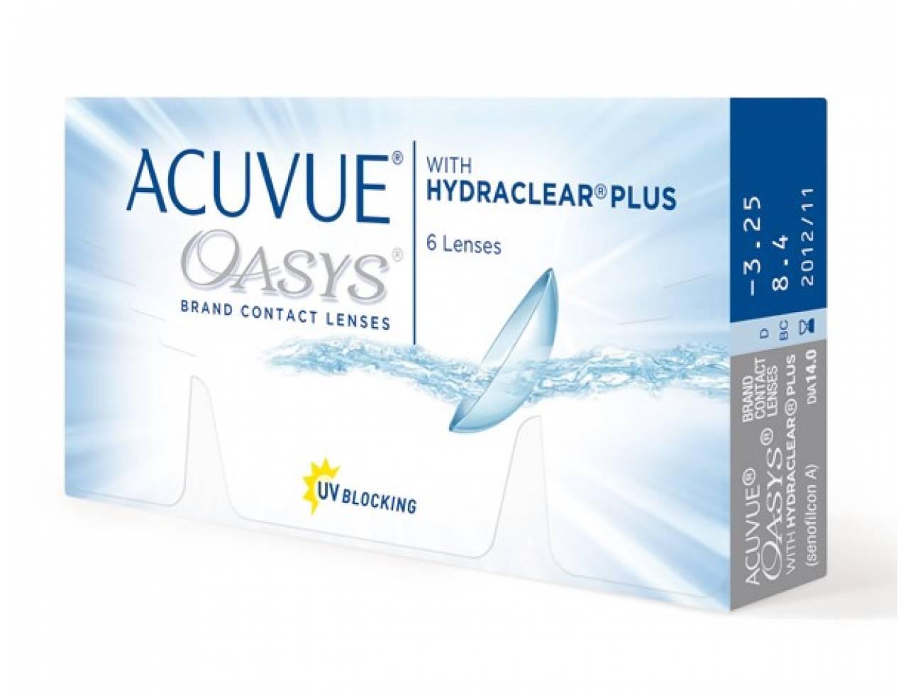Двухнедельные контактные линзы acuvue купить