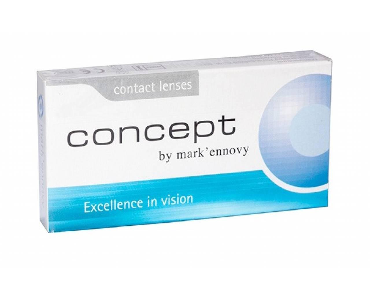 Месячные контактные линзы Mark`ennovy Concept