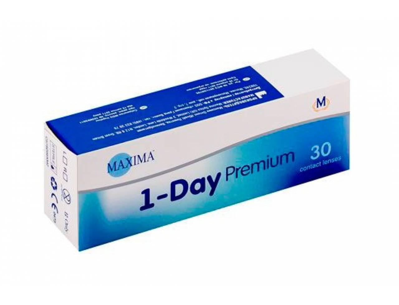 Однодневные контактные линзы Maxima 1-Day Premium - Фото №7