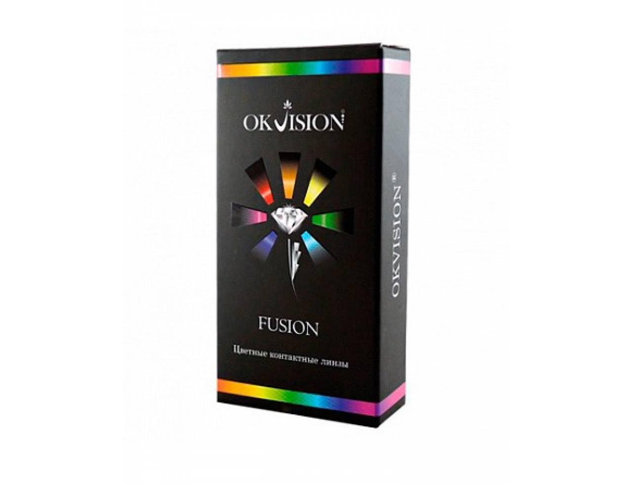 Цветные контактные линзы OkVision Fusion - Фото №7