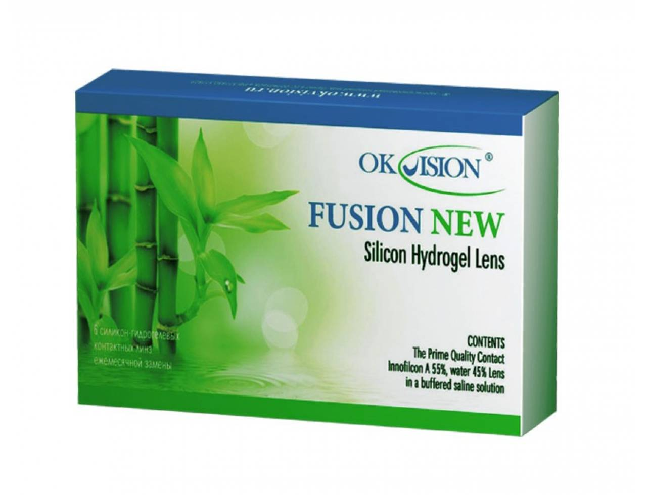 Месячные контактные линзы OkVision Fusion New - Фото №7