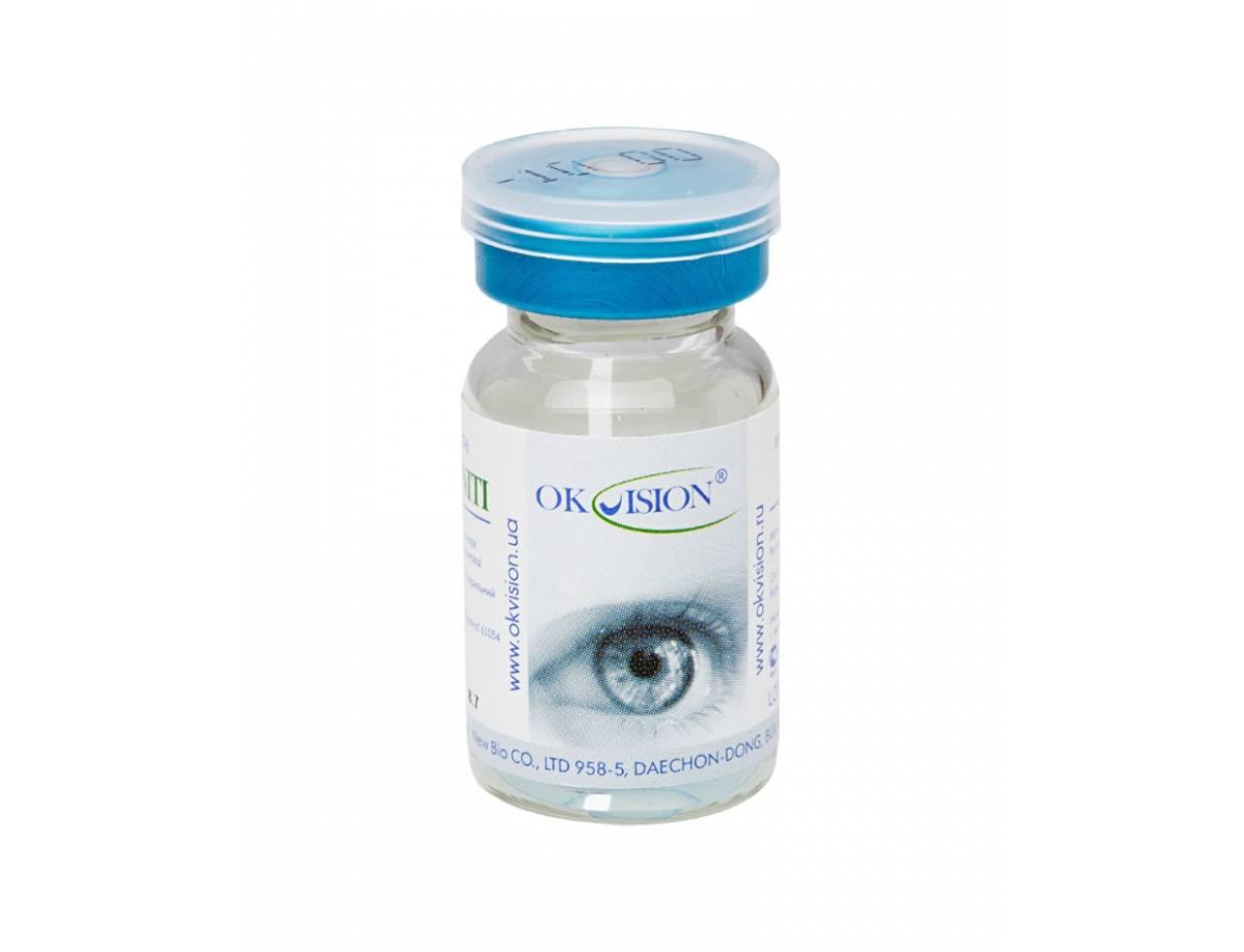 Традиционные контактные линзы OkVision Infiniti (плюсовые диоптрии)
