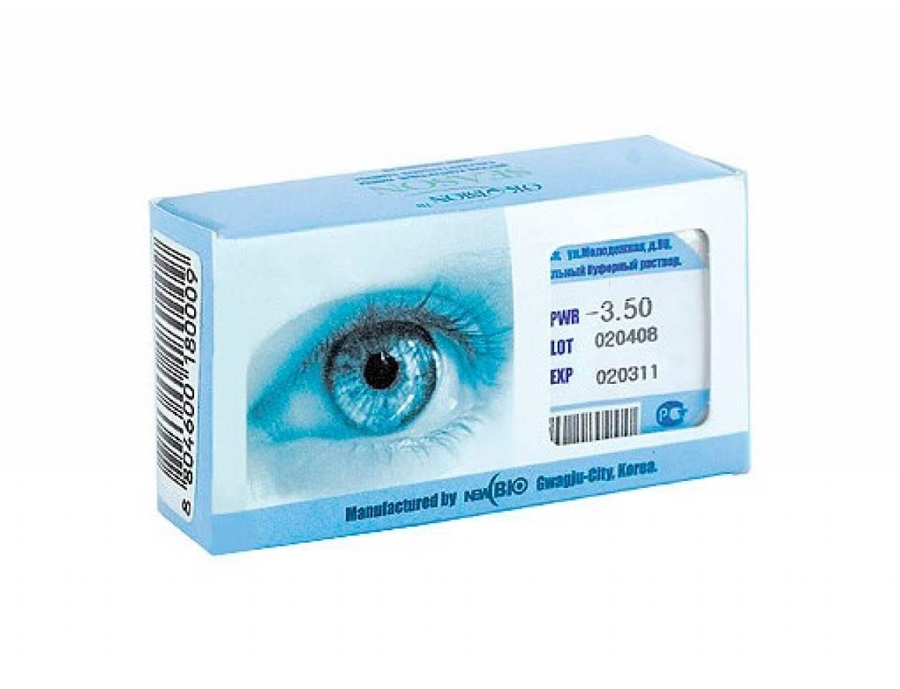 Квартальные контактные линзы OkVision Season