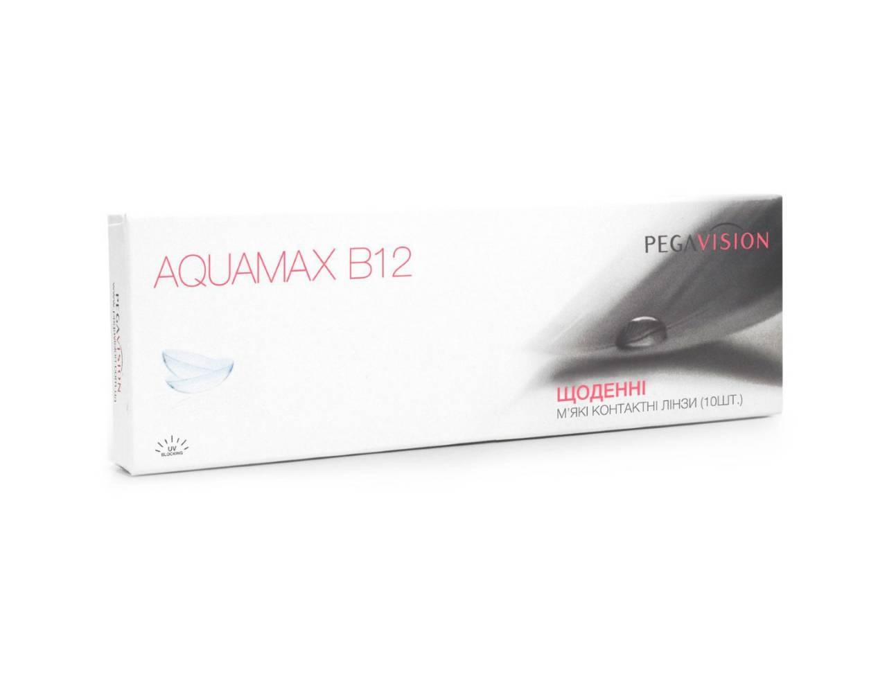 Однодневные контактные линзы Pegavision Aquamax-B12