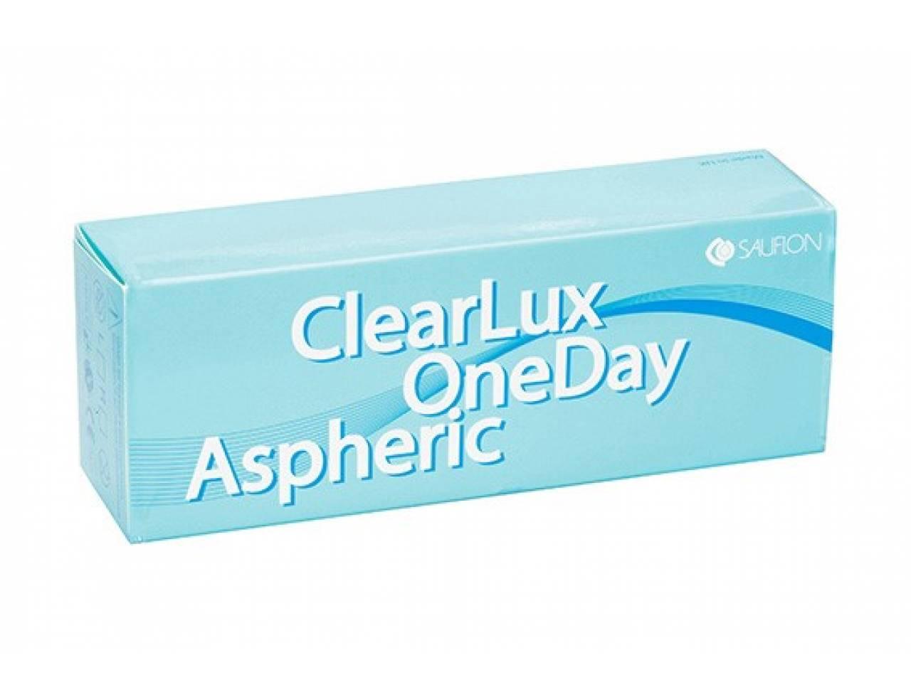 Однодневные контактные линзы Saulfon ClearLux One Day Aspheric - Фото №7