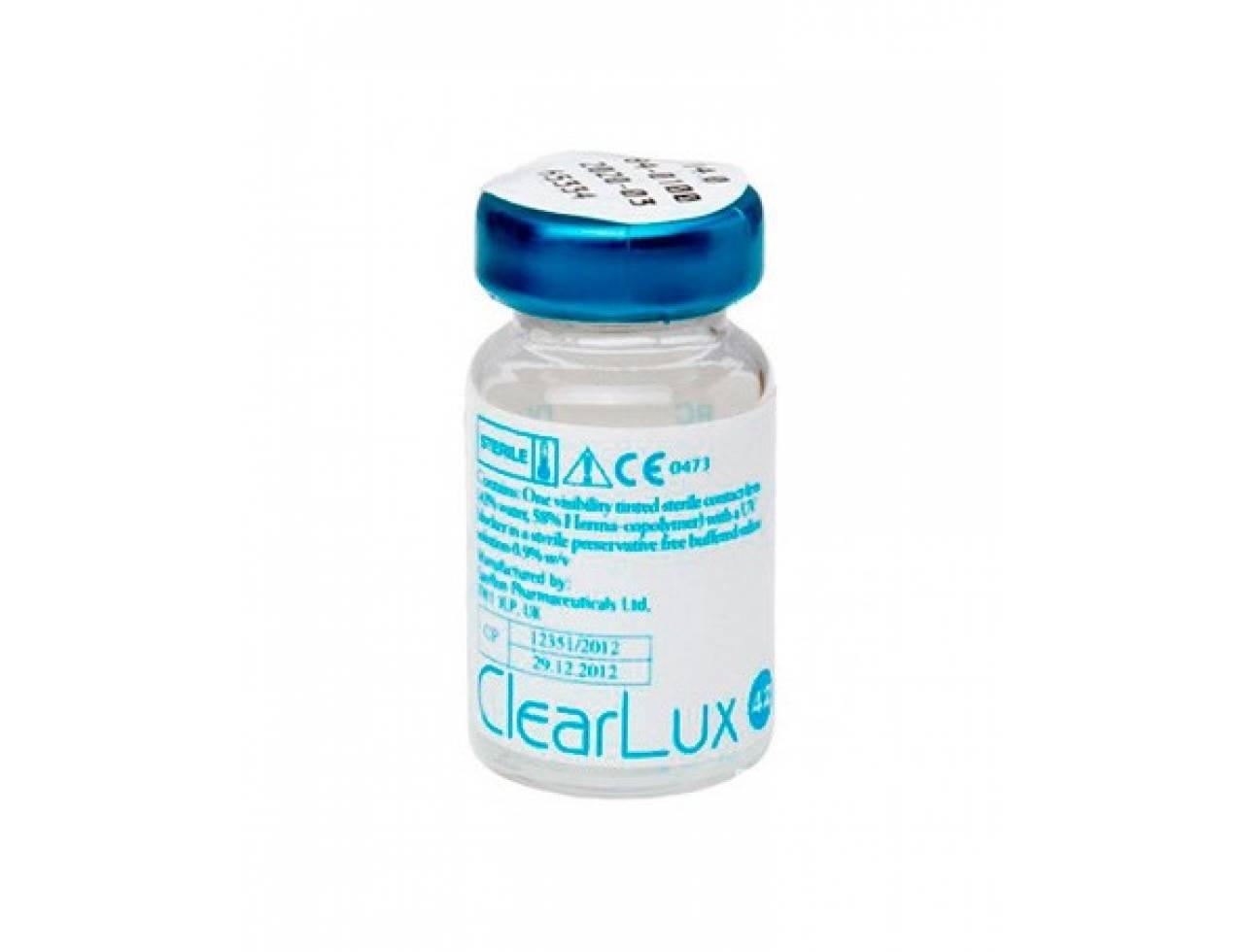 Традиционные контактные линзы Sauflon ClearLux 42 UV - Фото №7