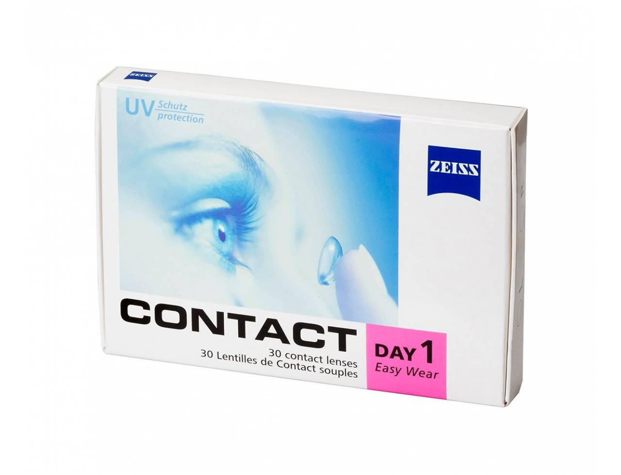 Однодневные контактные линзы Zeiss Contact Day 1 Easy Wear - Фото №7