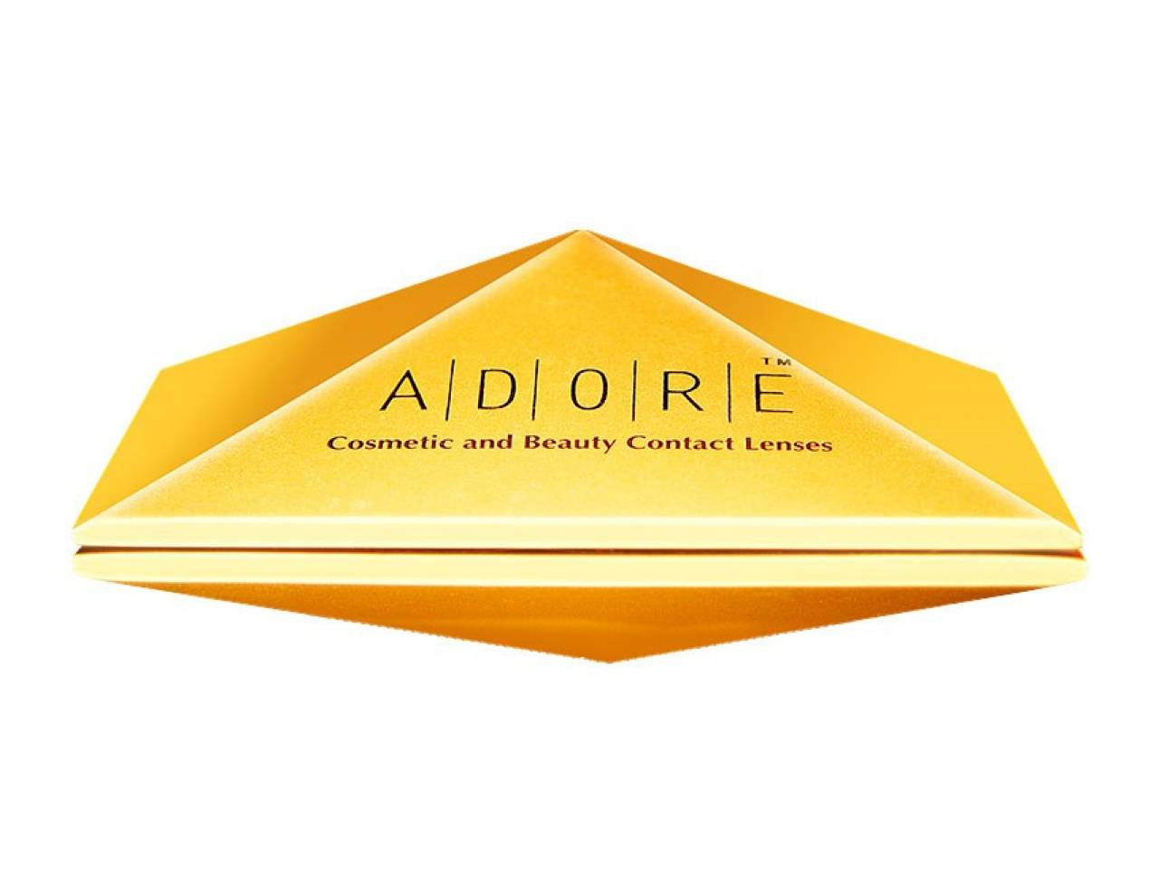 Цветные контактные линзы Eyemed Technologies Adore DARE-TONE (00) - Фото №7