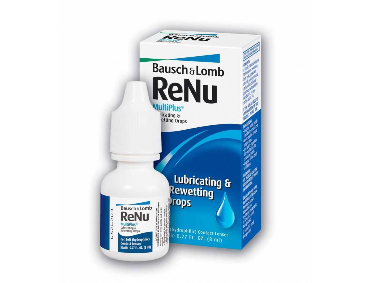 Увлажняющие капли Bausch+Lomb ReNu MultiPlus - Фото №7
