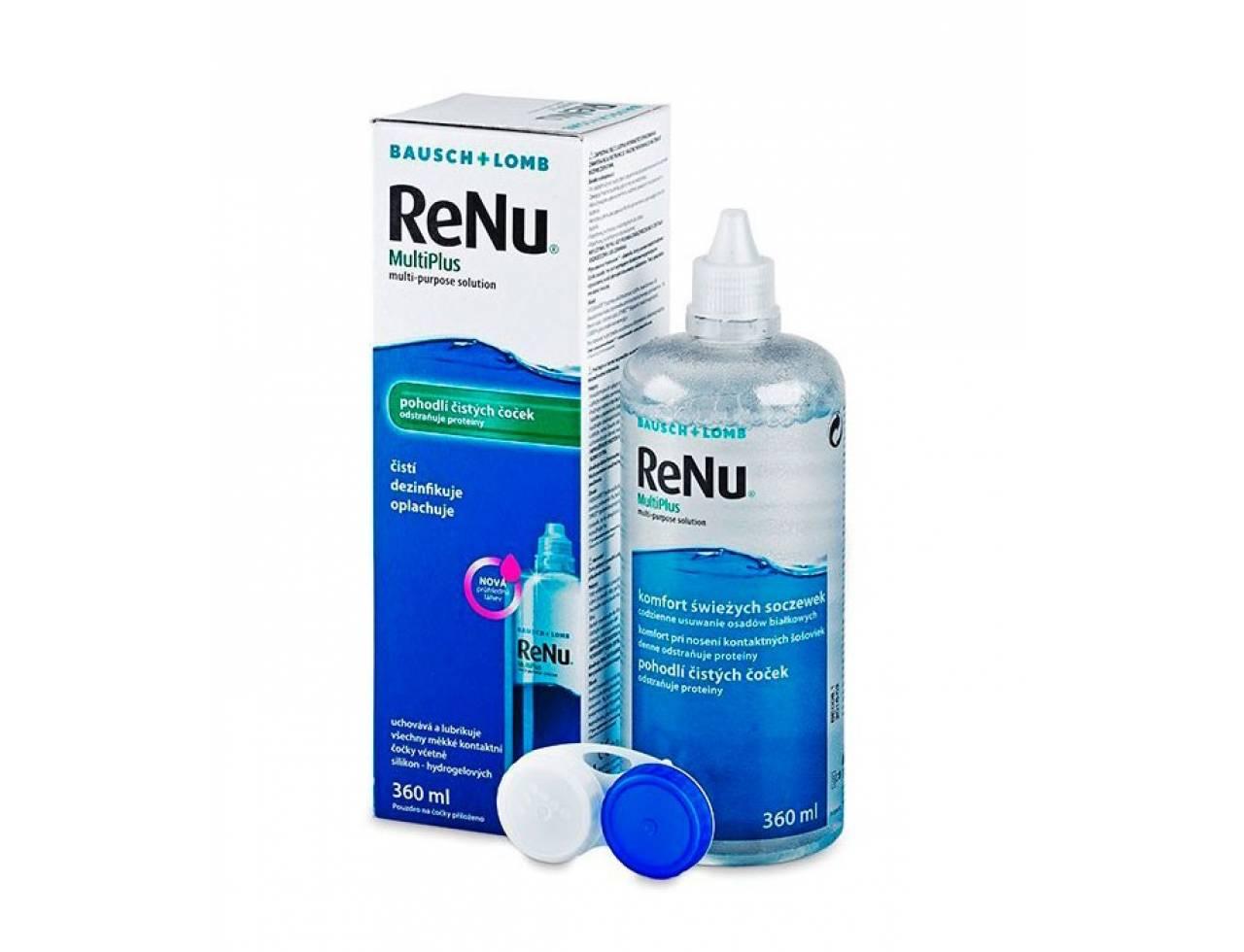 Раствор для контактных линз Bausch+Lomb ReNu MultiPlus - Фото №7
