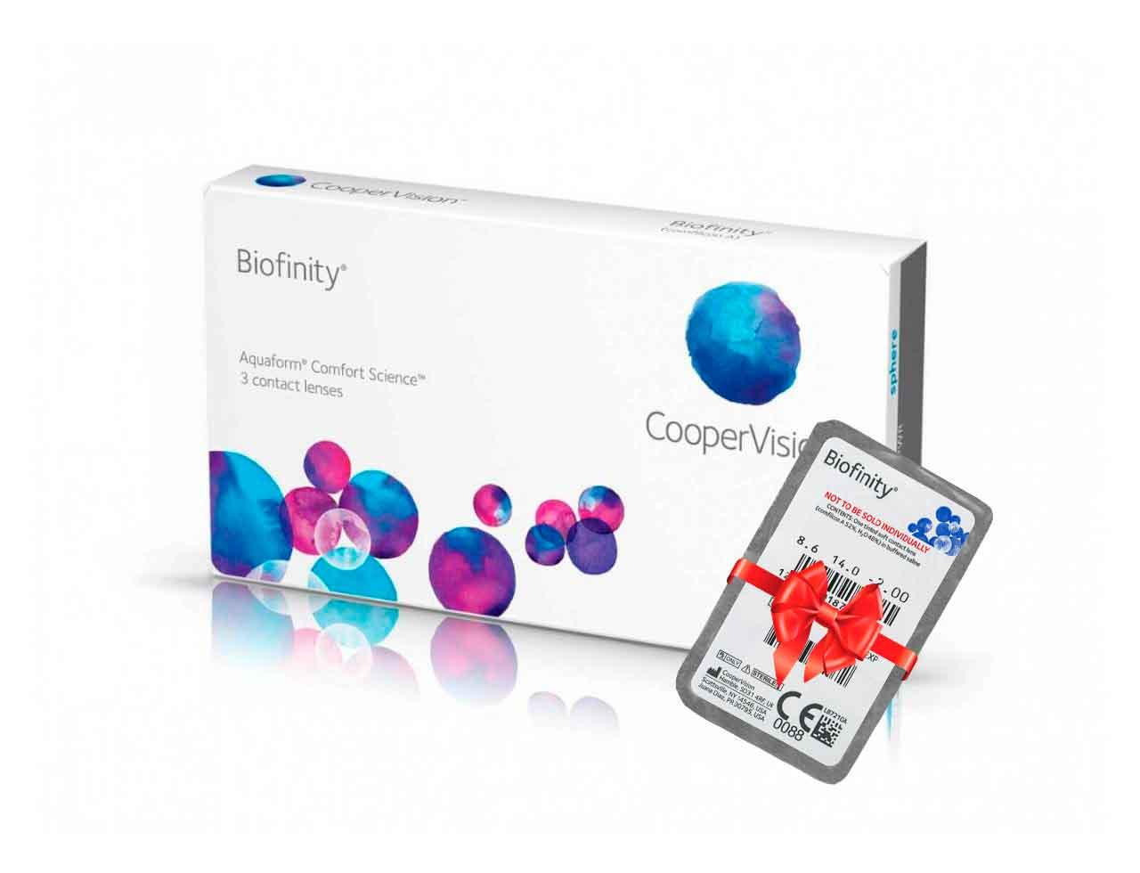 Месячные контактные линзы Cooper Vision Biofinity - Фото №7