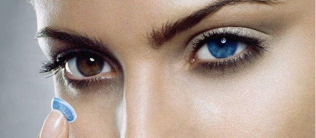 Как подобрать линзы цветные для карих глаз