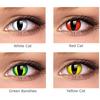 Цветные контактные линзы Interojo Festival Crazy - фото №2