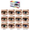 Цветные контактные линзы OkVision Fusion - фото №3