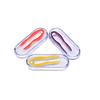 Пинцет для контактных линз прорезиненный в футляре - фото №1; ?>