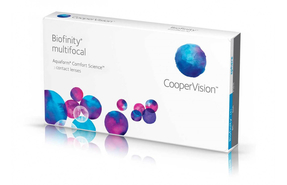 Мультифокальные контактные линзы Cooper Vision Biofinity Multifocal - фото