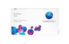 Торические контактные линзы Cooper Vision Biofinity toric - фото