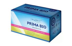 Месячные контактные линзы OkVision Prima Bio - фото