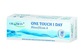 Однодневные контактные линзы OkVision One Touch 1 Day - фото