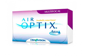 Мультифокальные контактные линзы Alcon Air Optix Aqua Multifocal - фото