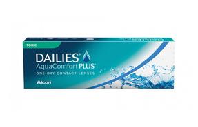 Торические однодневные линзы Alcon Dailies AquaComfort Plus Toric - фото