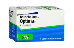 Квартальные контактные линзы Bausch+Lomb Optima FW - фото