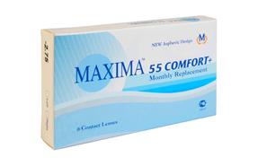 Месячные контактные линзы Maxima 55 Comfort+ - фото
