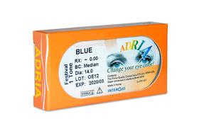 Цветные контактные линзы Interojo Adria Festival 1 Tone - фото