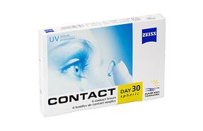 Месячные контактные линзы Zeiss Contact Day 30 Mediterranee - фото