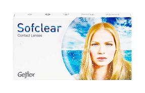 Месячные контактные линзы Gelflex Sofclear - фото