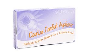 Месячные контактные линзы Sauflon ClearLux Comfort Aspheric - фото
